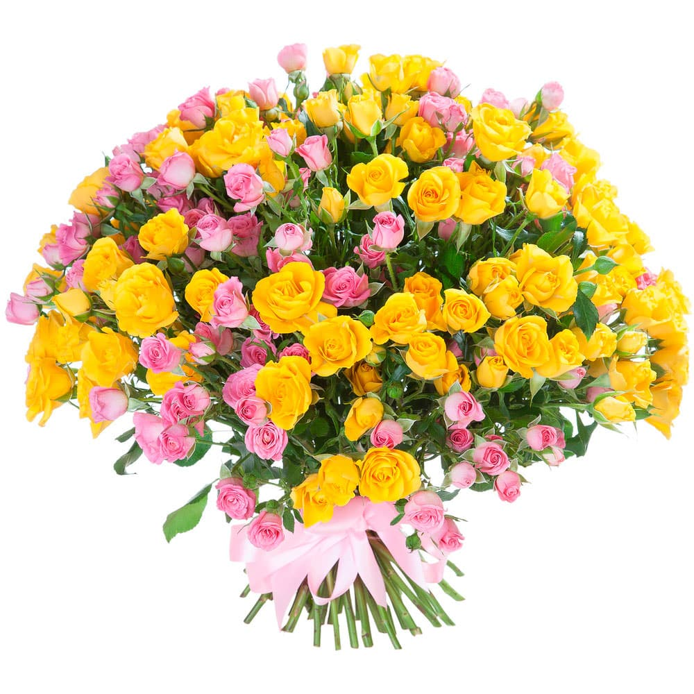 Поздравить цветами в другой город